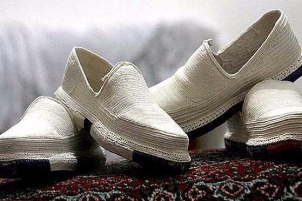 کارگاه گیوه بافی نشلج - هنر و صنایع دستی - ایران - هنر و صنایع دستی